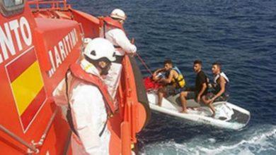 Photo of مهاجرين مغاربة حاولوا الوصول لإسبانيا سباحة من طنجة