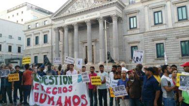 Photo of تظاهرات عديدة في جميع أنحاء إسبانيا للتنديد بترحيل المهاجرين إلى المغرب