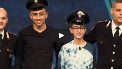 Photo of بالفيديو: وأخيرا الجنسية الإيطالية للبطل الطفل آدم المغربي ورامي المصري