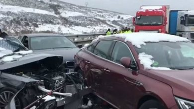 Photo of فيديو .. ضواحي مدريد .. حادث مروري يسفر عن إصابة مغاربة