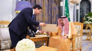 Photo of رسالة خطية من الملك محمد السادس إلى ملك السعودية