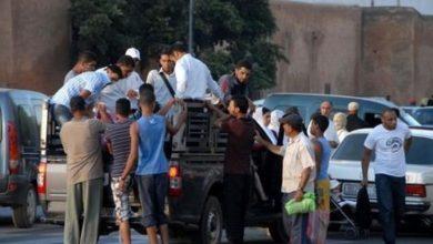 Photo of فيديو .. الخطافة يحتجون على منعهم من ممارسة النقل السري