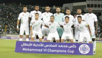Photo of الرجاء البيضاوي مصنف كأول فريق يقيم مباراة في الضفة الغربية المحتلة