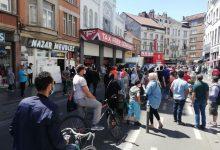 """Photo of مهاجرين بدون أوراق ببلجيكا وفرنسا ينتفضون ويخرجون للاحتجاج ضد """"الاستغلال"""" (فيديو)"""