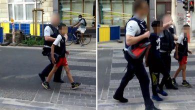"""Photo of بلجيكا : فتح تحقيق مع ضابطين من الشرطة بسبب اعتقال طفلين بمنطقة """"سان جيل"""" (فيديو)"""