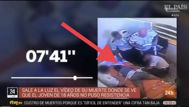 Photo of بالفيديو: حراس الأمن بإسبانيا يقتلون شاب مغربي بشكل فظيع